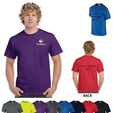 48 Custom Screen Printed T-Shirts with Your Logo or Message- Gildan 2000