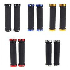1 Pair Mountain Bike MTB BMX Bicycle Cycling Double Lock Handlebar Grips 1VC5