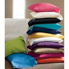 1200 THREAD COUNT PILLOW CASES!! (All Sizes - 20 Colors) 2 pillow cases Set