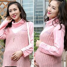 New Lady Maternity Tops T-shirt Tee Pregnant Women Love Printing Pajamas Gifts