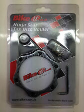 Custom Motorcycle Tax Disc Holder - Ninja Star - Carbon Effect