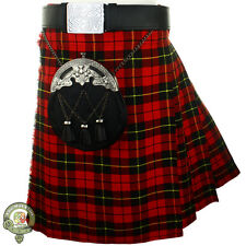 Mens Kilt, 5 Yard Kilts, William Wallace, Scottish Tartan Kilt, Casual Kilts NEW