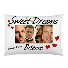 Channing Tatum  Personalised Pillow Cases Sexy 'You Choose Name'