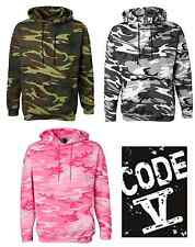 Code V - Camouflage Pullover Hooded Sweatshirt Camo Hoodie S-2XL 3969