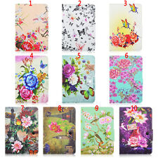Fashion Colorful Flora Series Printed Protective Folding Stand Cover Case For 7""