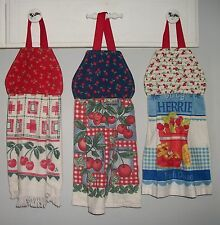 Cherry Cherries Fruit Pie Jams Orchard Hanging Kitchen Oven Hand Dishtowel HCF&D