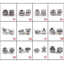 Fahion European Charms Alloy Beads For  Bracelets & Bangle Jewelry Accessories