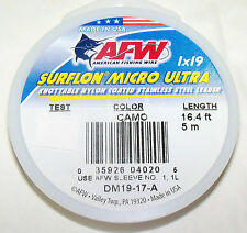 17 LB, AFW SURFLON ULTRA 1X19 COATED-KNOTABLE-STAINLESS STEEL WIRE