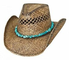 Bullhide Year Of the Summer Vented Raffia Straw Hat 2795