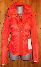 LULULEMON RUN BUNDLE UP JACKET love red ATHLETIC SPORTS 8 10 ski run walk COAT
