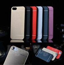 Aluminum Ultra-thin Metal Hard Case Back Cover For Apple iPhone 4S/ 5S/6 Plus