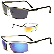 Sport Cycling Biking Golfing Wrap Around Men Fashion Metal 's Designer Sunglass