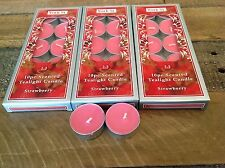 30 pcs Scented Tealight Tea Light Candles for Parties Weddings Home Decor