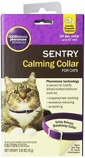 SENTRY Calming Collar for Cats Good Behavior Pheromone Safety