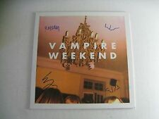 Band Autographed/Signed Vampire Weekend Self Titled Vinyl LP COA