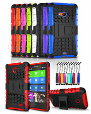 Huawei Ascend G620S Shockproof Heavy Duty Tough Case Cover with Stand & Mini Pen