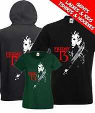 Friday The 13th Jason Vorhees Classic Retro Horror Movie T Shirt