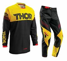 Thor 2016 Youth Phase Hyperion Gear Set Yellow Motocross Kids Pants FREE JERSEY