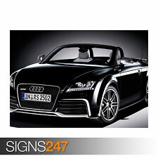 AUDI TT RS ROADSTER (0730) Poster Print Art A0 A1 A2 A3 - 2nd HALF PRICE!