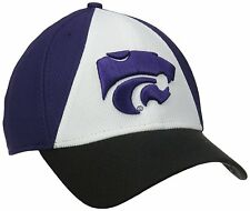 Kansas State Wildcats Ball Cap Hat~New Era 39THIRTY~Flex Fit M/L~Ships FREE