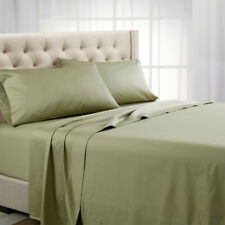 Luxury 1200 Thread count Solid Sheet set Cotton-Deep Pocket sheets