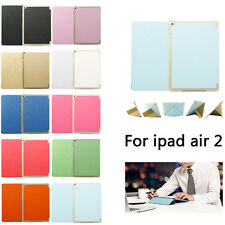Smart Wake/Sleep Flip Stand Protect Leather Case Cover for iPad Air 2 iPad 6 Lot
