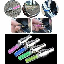 LED Tire Wheel Valve Spoke Flash Lamp Cycling Bike Bicycle Motorcycle Car Light