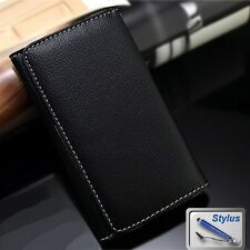 Wallet Money Card Leather Case Cover for HTC Desire 520 / 530 / 650 + Stylus