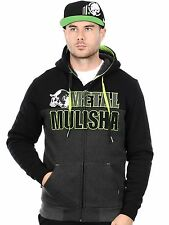 Metal Mulisha Black Slash Sherpa Lined Zip Hoody