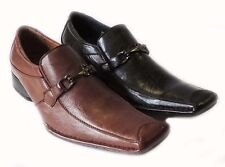 NEW *DELLI ALDO* FASHION MENS  LOAFERS SLIP ON COMFORT LEATHER LINED DRESS SHOES