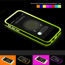 Rock LED Calling Flash Shockproof TPU Case Cover For Apple iPhone 6 /Plus /5 5s