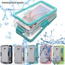 Waterproof Shockproof Life Cover Case For Samsung Galaxy S6 S6 edge+ plus/Note 5