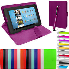 """Universal PU Leather Folio Stand Tablet Case Cover For 9"""" 10"""" 10.1"""" 9.7"""" 9.6"""""""