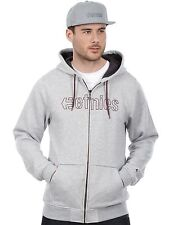 Etnies Grey-Heather Corporate Stitch Zip Hoody
