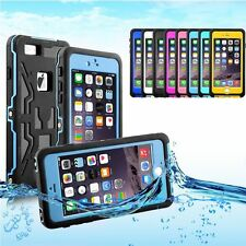 Heavy Duty Waterproof Shockproof Silicone Hard Case Cover For iPhone 6 6s Plus