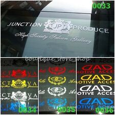 Exquisite JP VIP DAD Lions Windscreen front windshield car stickers Wall Decals