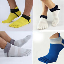 1Pair Comfortable Men's Socks Sports Five Finger Pure Soft Economic Cotton Sock