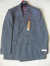 "EX M&S COLLEZIONE GREY CHECK FINE WOOL BLEND REGULAR FIT JACKET 38-46"" S M L"