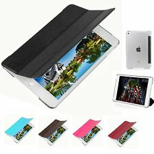 New Slim Magnetic PU Leather Stand Smart Cover Back Case For Apple iPad Mini 4