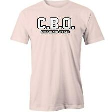 Cbo Chief Beard Officer T-Shirt Manly Facial Hair Funny Tee New