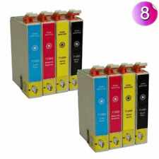 8PK COMPATIBLE SERIES INK CARTRIDGES FOR EPSON STYLUS INKJET PRINTER T1285