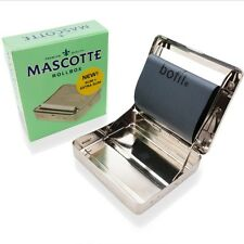 Mascotte Cigarette Rolling Machine/Roll Box/Tobacco Tin, Hydrostone Humidifier