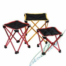 Outdoor Camping BBQ Ultra Light Aluminum Alloy Foldable Fishing Chair Stool