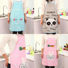 1PC Cute Animal Images Restaurant Household Kitchen Waterproof Cooking Apron