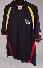 Official AFL Adelaide Crows Mens Performance Polo Size Small