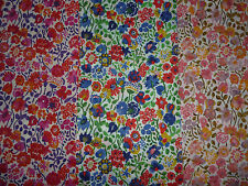KAYLIE SUNSHINE Liberty of London Tana Lawn fabric Large Fat Quarter/FQ quilting