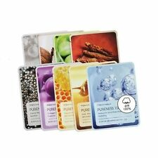Tonymoly Pureness 100 Mask Sheet Assorted 7, 15 or 50pc for Facial Skin Care