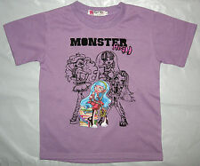 New MONSTER HIGH Girls Summer Cotton Top/T-Shirt Size 6,8,10,12
