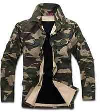 2016 HOT NEW Casual Men's Long Sleeve Army military  Hooded Hoodies Jackets Coat