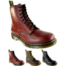 Ladies Dr Martens 1460 Classic Lace Up Leather Ankle Military Boots All Sizes